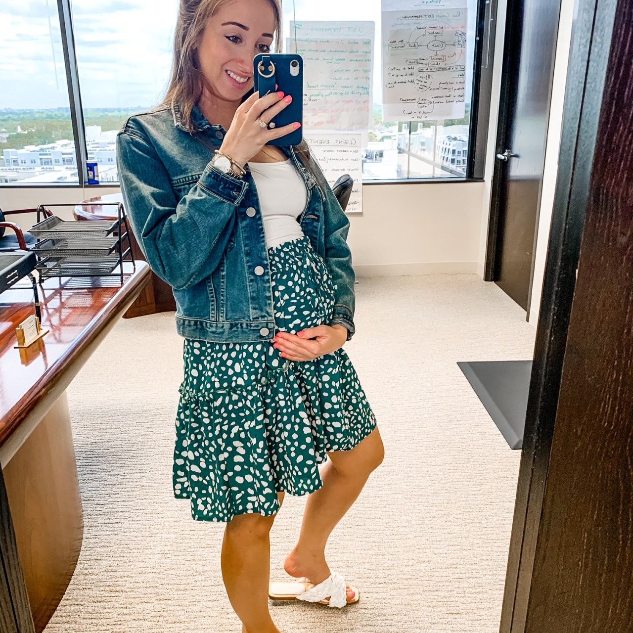 Second Trimester Maternity Looks for Summer