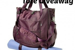 Athleta Cargo Tote Giveaway #HappyNewYear