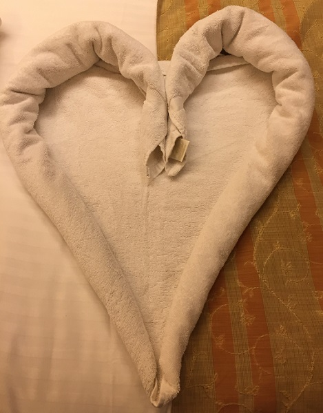 heart-towel