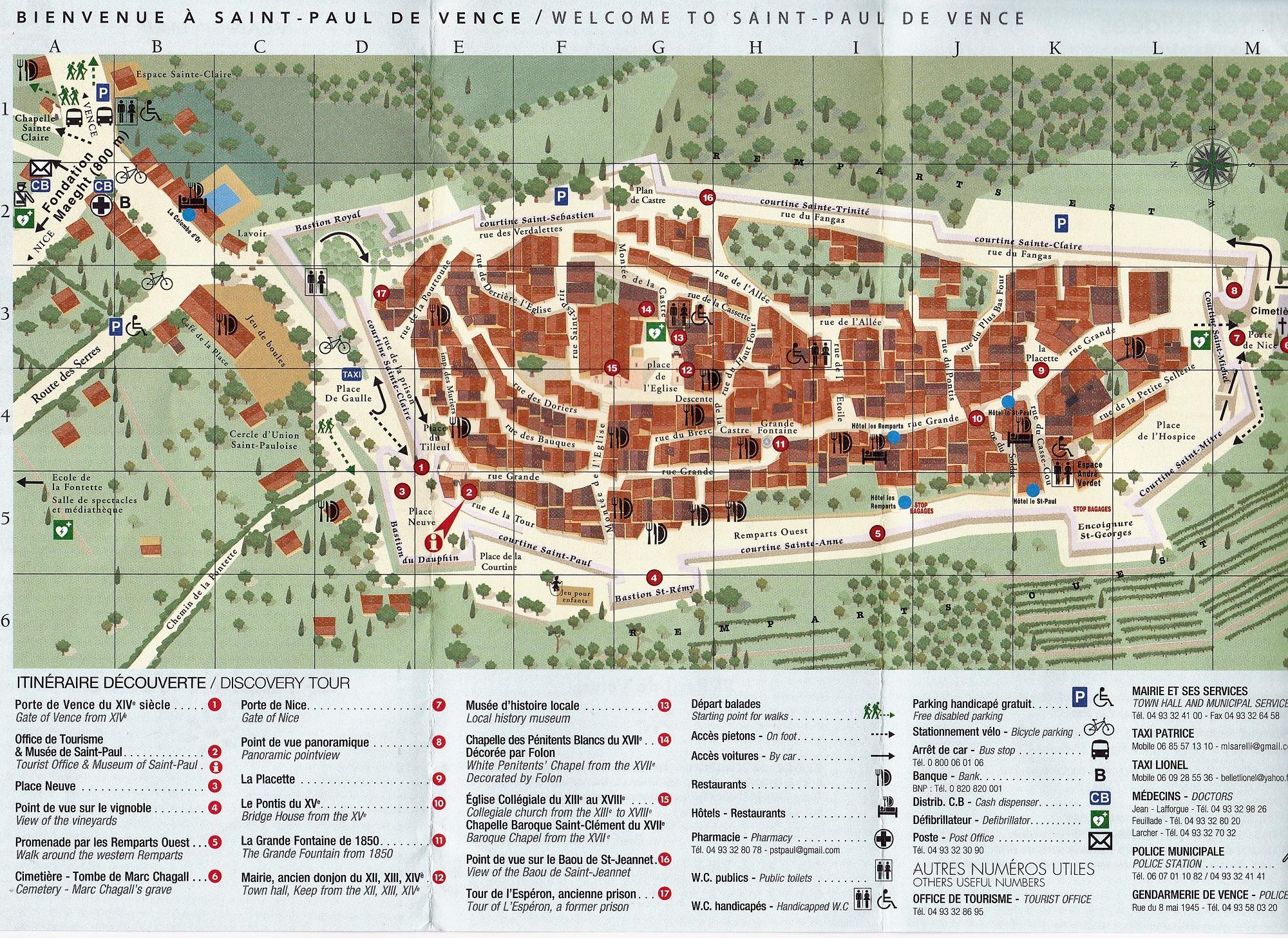 Norwegian Epic: Eze and Saint Paul de Vence on st. paul hotels map, saint paul de vence tourism, barra de navidad mexico map, saint remy de provence map, city of saint paul map, saint jean cap ferrat map,