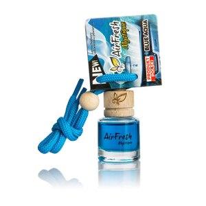 Aqua Blue Car Freshener