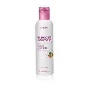Fairness Softening Body Lotion UV Filters