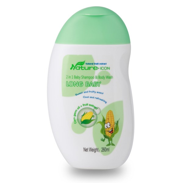 Longrich long baby 2 in 1 Baby Shampoo & Body Wash