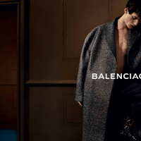 Ad Campaign - Balenciaga Man AW13 Campaign
