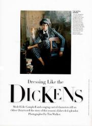 Vogue - 'Dressing Like The Dickens' (December 2013)