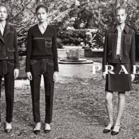 Prada Resort 2015 Ad Campaign
