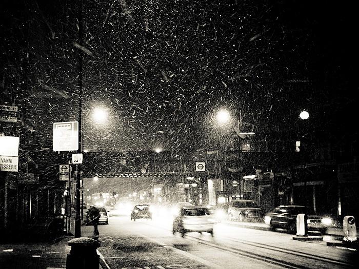 London Goldhawk Road (Snow)