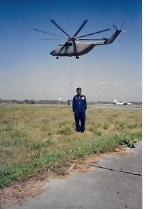 Soon after a test flight on the mother of all helicopters - the 50-ton Mi-26