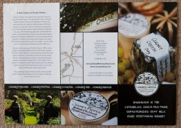 Photographys for The Cerney Cheese leaflet