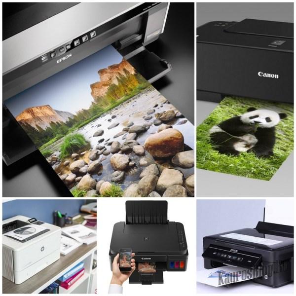Выбираем принтер для распечатки фотографий
