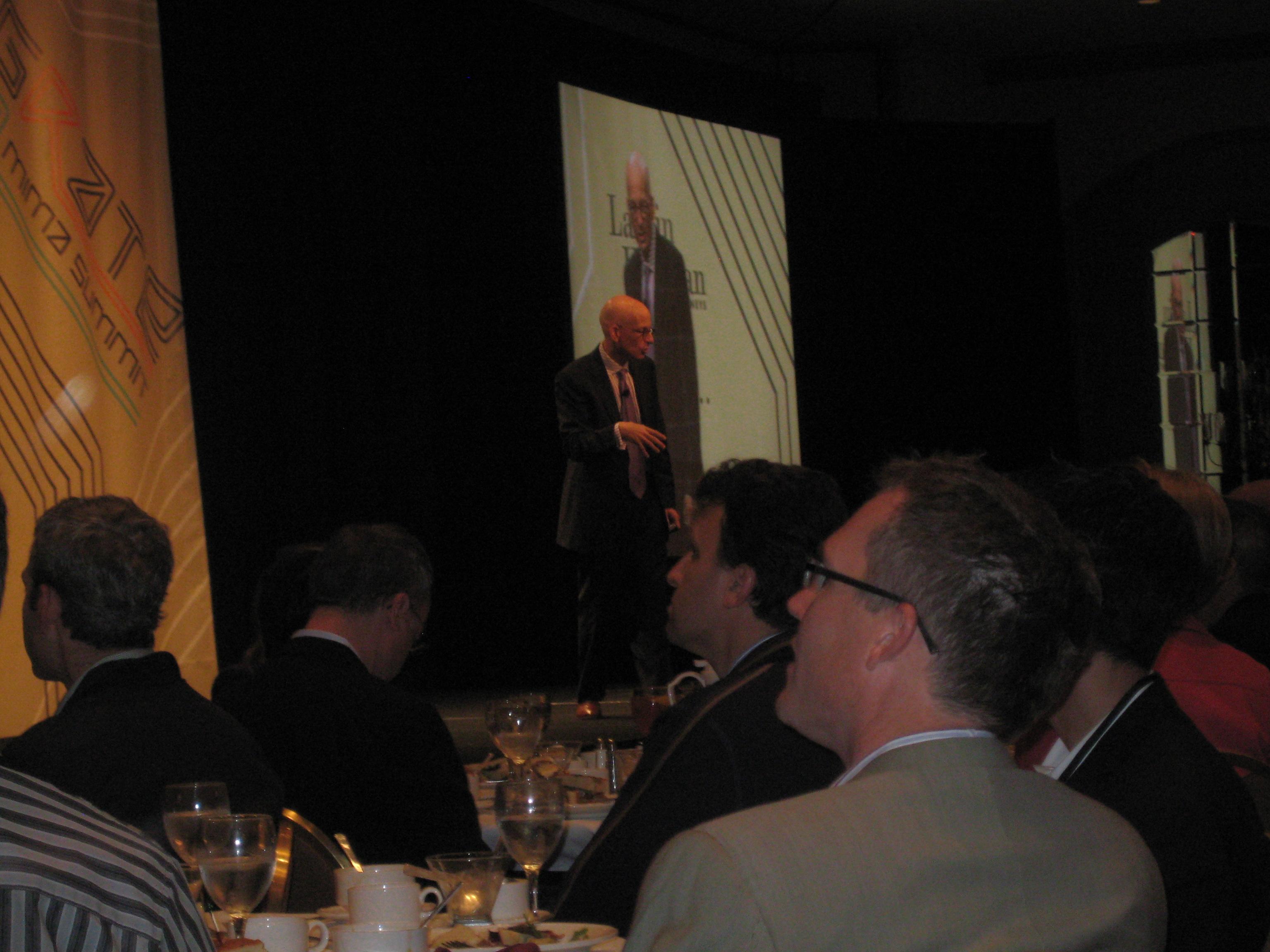 Seth Godin, afternoon keynote
