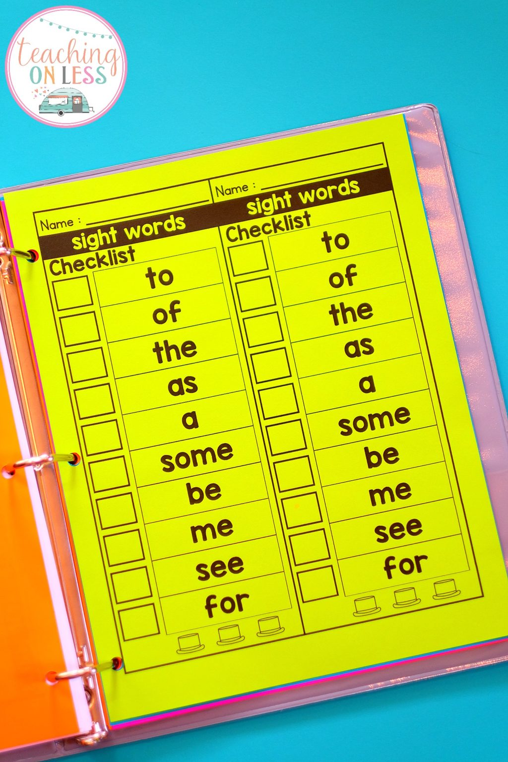 Editable Sight Word Worksheets Kayse Morris
