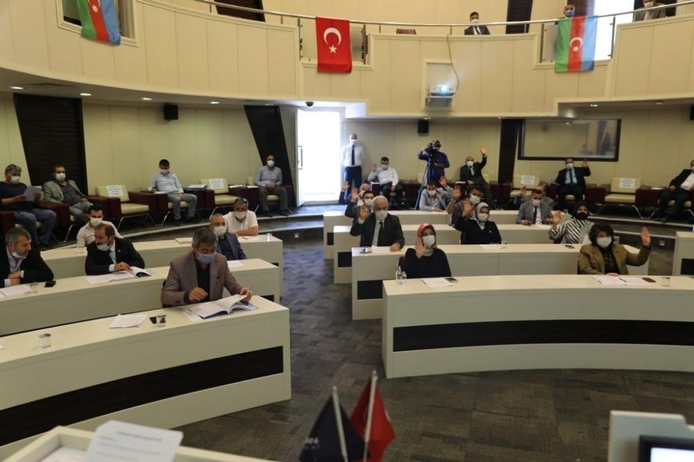 Kocasinan Meclisi'nden Azerbaycan'a tam destek