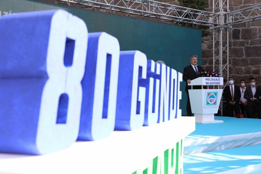 Melikgazi Belediyesi 80 Rakamının Sırrını Açıkladı