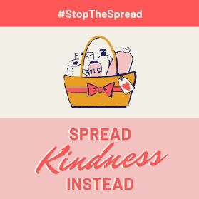 Stop the Spread  Spread Kindness Instead