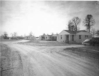 1949 Faculty Row