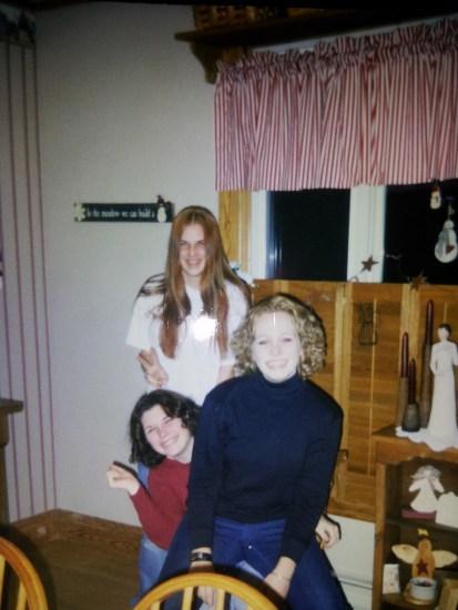 Long hair was long. :)