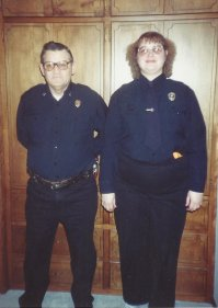 My parents met at the county sheriff's office - he was a cop, she was a dispatcher.