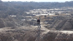 Kay in the Badlands