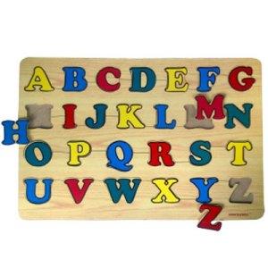 pzl hrf besar - Puzzle Stiker - ABC Huruf Besar