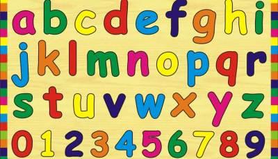 Puzzle Huruf Kecil ANgka - Puzzle ABC Huruf Kecil dan Angka