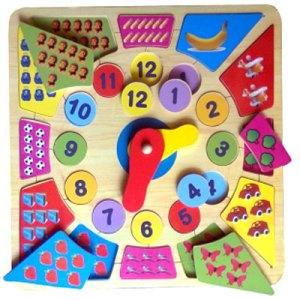Puzzle Jam Besar - Membuat Balok Susun Kubus Warna Pesanan Custom