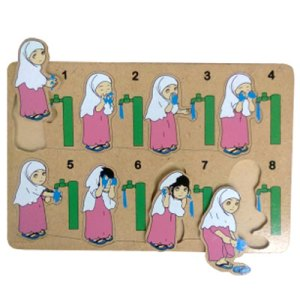 wudhu perempuan 2 - Puzzle Wudhu Perempuan