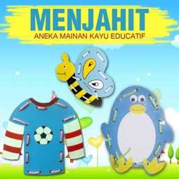 produk menjahit - Manfaat Mainan Edukatif Untuk Kecerdasan Anak