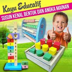 produk susun kenal bentuk - Manfaat Mainan Edukatif Untuk Kecerdasan Anak