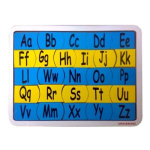 Alfabet Kecil - Puzzle Alfabet Kecil