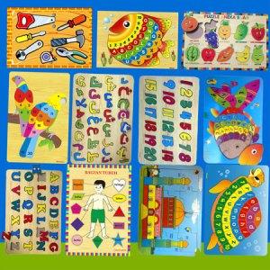 aneka puzzle - Membuat Mainan Edukatif Untuk Dikirim ke Singapura