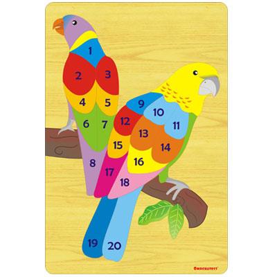 burung - [Best Seller] Aneka Puzzle Dapat 3 Pcs