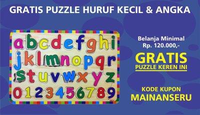 gratis puzzle - Promo Mainan Seru