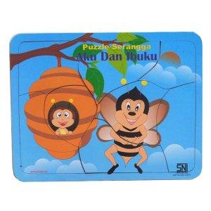 aku dan ibuku lebah - Puzzle Aku dan Ibuku - Seri Lebah