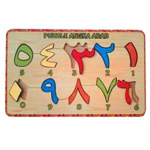 puzzle angka arab - Bola Terapi Kesehatan / Trigger Point Therapy Bola Kayu