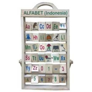 alfabet berdiri - Alfabet Berdiri Natural