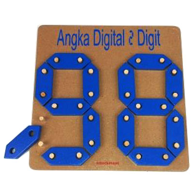 angka digital 2 digit - Angka Digital 2 Digit