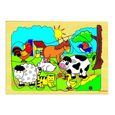 safari hewan ternak - [Best Seller] Aneka Puzzle Dapat 3 Pcs