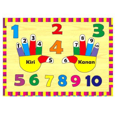 Puzzle Jari Tangan - [Best Seller] Aneka Puzzle Dapat 3 Pcs
