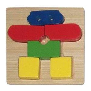 puzzle robot - Puzzle Robot - Kayu Seru