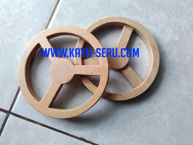 Setir Kayu - Pembuatan Miniatur Setir Mobil Dari Kayu