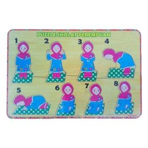 puzzle sholat perempuan - Mainan Anak Puzzle Pilihan Diskon 50% Free Ongkir