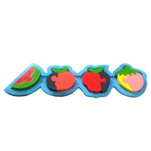 puzzle buah cat - Plakat Kayu Hadiah Wisuda Siswa SPS Kenanga Tangerang