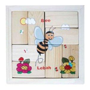 Puzzle Lebah - Puzzle Lebah - Balok