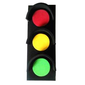 celengan spon lampu merah - Celengan Sponge - Lampu Merah
