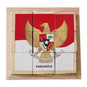 puzzle garuda pancasila - Puzzle Garuda Pancasila - Balok