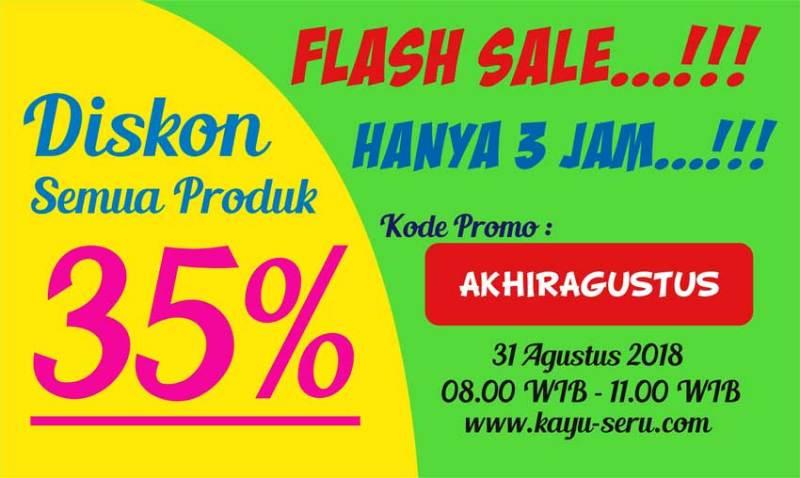 flash sale akhir agustus - Flash Sale Akhir Agustus Diskonnya Gede