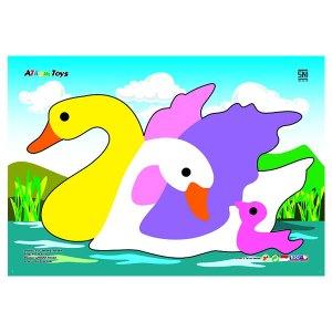 puzzle gambar angsa - Puzzle Gambar Angsa