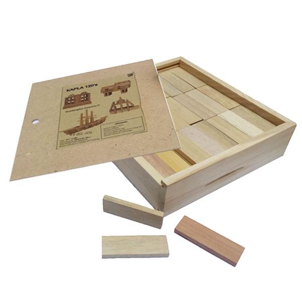 mainan kapla kayu - Kapla isi 120
