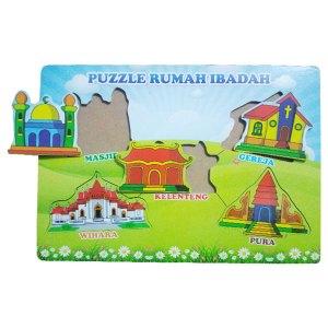 puzzle rumah ibadah - Puzzle Rumah Ibadah